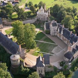Château du Plessis-Macé lieu du Festival d'Anjou